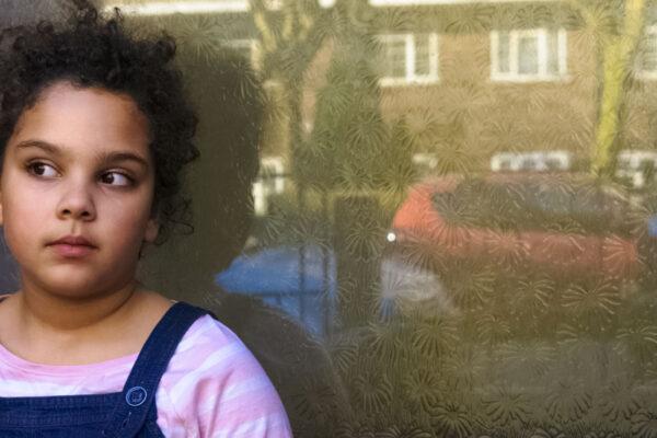 Child at door