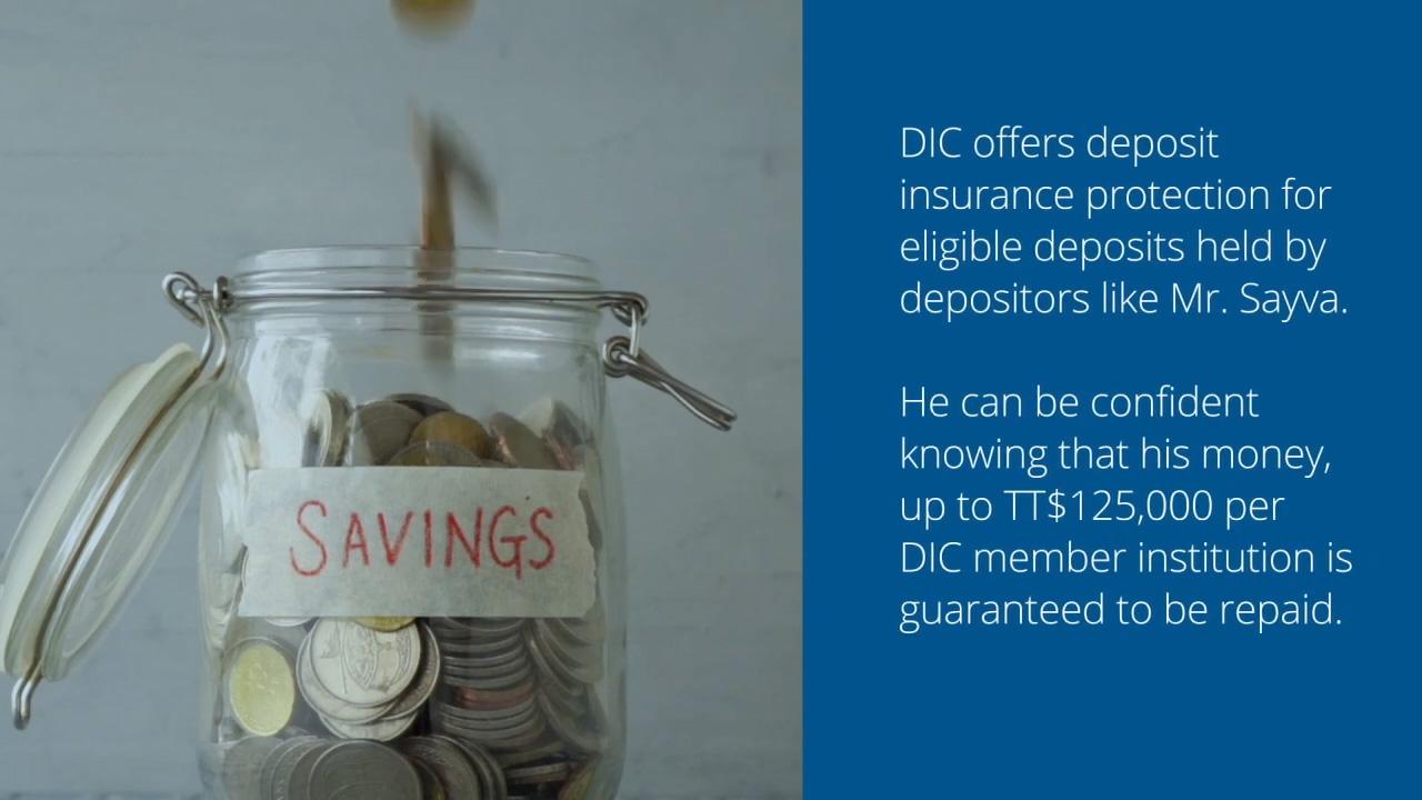 Savings, DIC Training Module 1